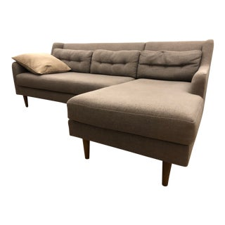 West Elm Mid-Century Inspired Sectional