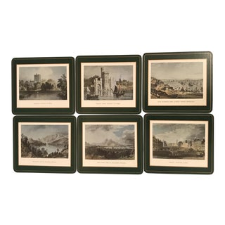 Cork Back Ireland & England Scene Placemats - Set of 6