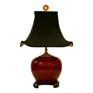 Chinese Sana De Boeuf Table Lamp For Sale