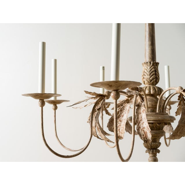 French Visual Comfort Savona Chandelier For Sale - Image 3 of 8