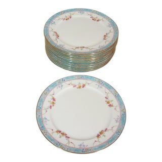 Cauldon Luncheon Plates - Set Of 12 For Sale