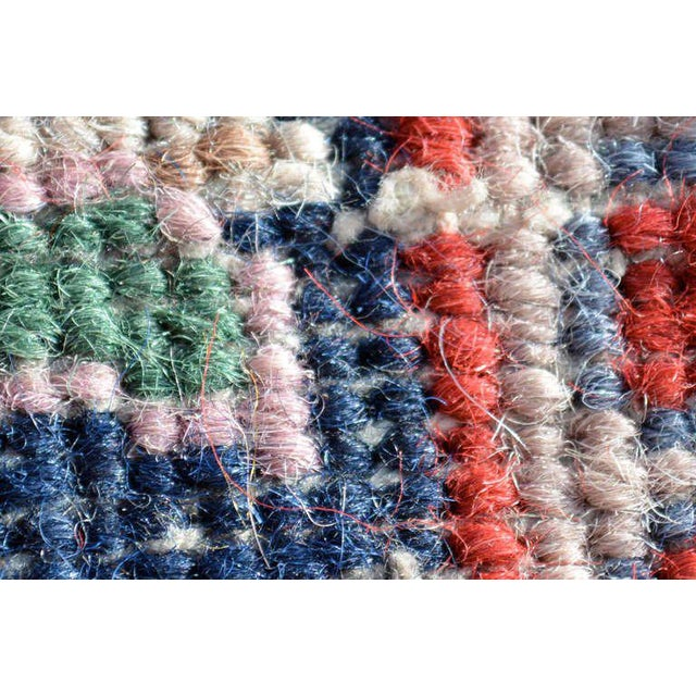 1950s Antique Persian Rug For Sale - Image 5 of 8