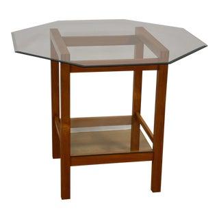 Teak & Glass Dinette Table For Sale