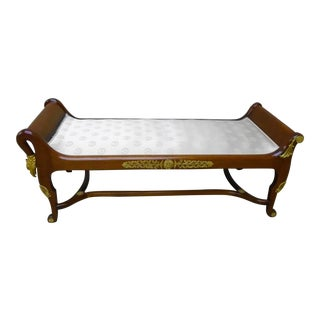 Mid 18th Century Antique French Regency Daybed For Sale