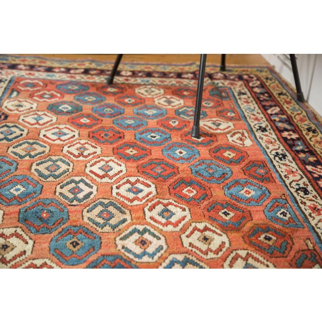 "Antique Caucasian Rug - 3'9"" X 6'11"" - Image 6 of 9"