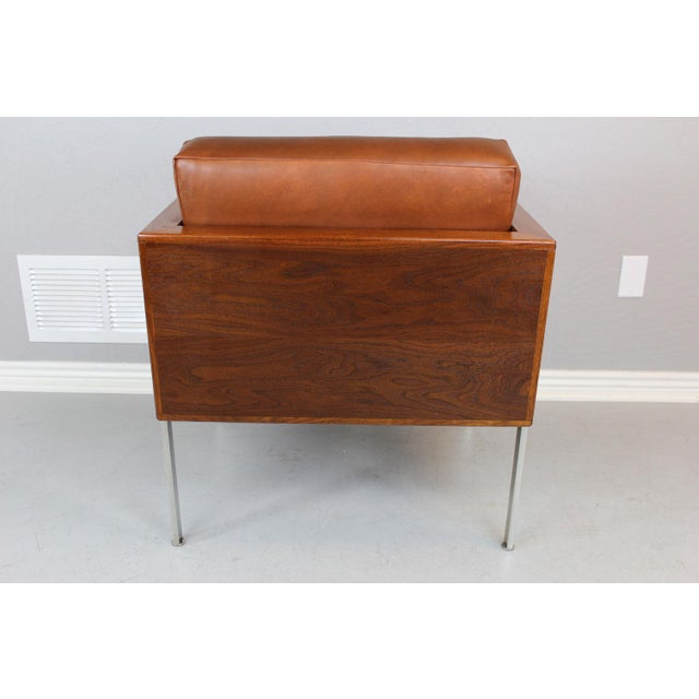 """Harvey Probber Harvey Probber Architectural Series """"Cube"""" Chair For Sale - Image 4 of 9"""