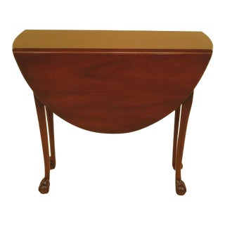 Kittinger Colonial Williamsburg Clawfoot Table For Sale
