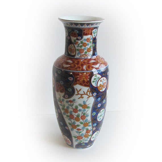 Antique Porcelain Japanese Imari Vase - Image 2 of 5