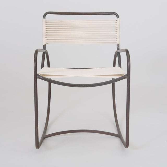 Single Walter Lamb Rocking Chair for Brown Jordan For Sale In Los Angeles - Image 6 of 7