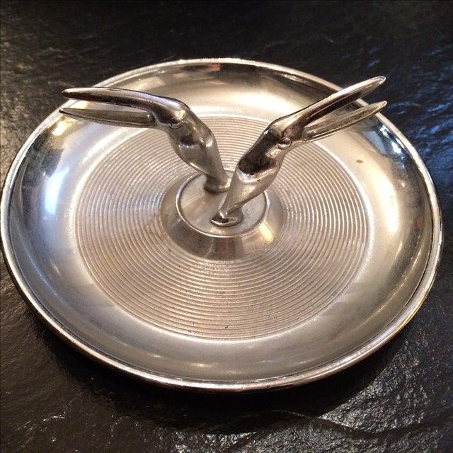 Hamilton Double Toucan Silver Ashtray - Image 3 of 5