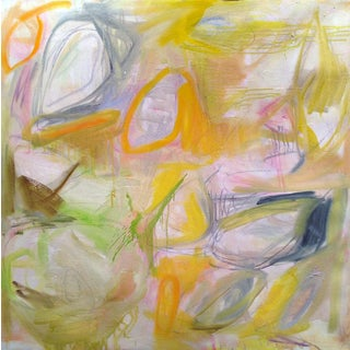 """""""Stepping Stones"""" by Trixie Pitts Abstract Expressionist Oil Painting For Sale"""