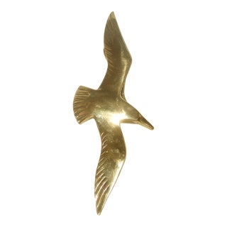 Penco Seagull Brass Door Knocker