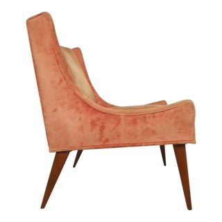 Paul McCobb Style Formed Lounge Chair