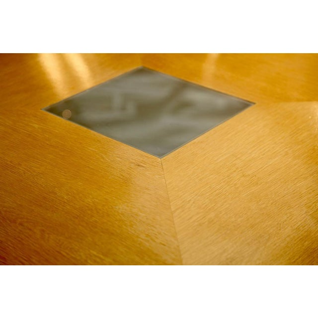 Arthur Elrod Steve Chase Arthur Elrod Custom Dining Table For Sale - Image 4 of 12