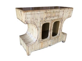 Image of Antique White Console Tables
