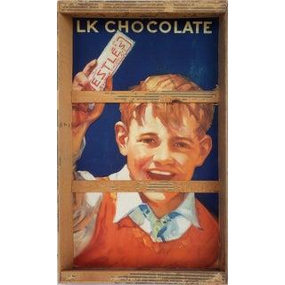 1950s Nestle's Advertising Outsider/Folk Art Sign Art For Sale