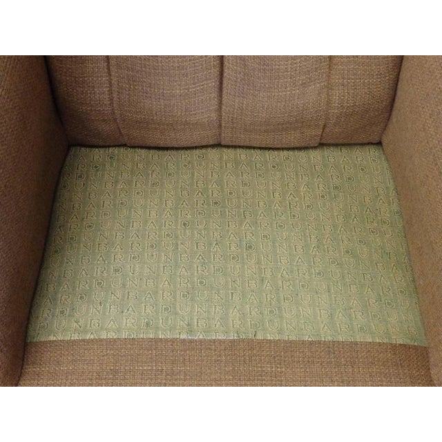 Original Edward Wormley for Dunbar Modernist Wingback Lounge Chair For Sale In Detroit - Image 6 of 7