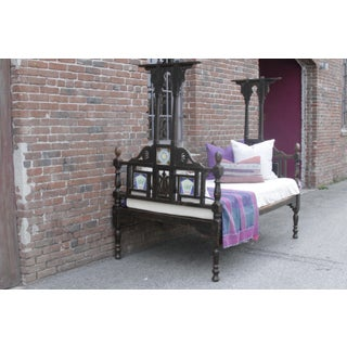 Antique Indo Portuguese Bed With Lustrous Patina Preview
