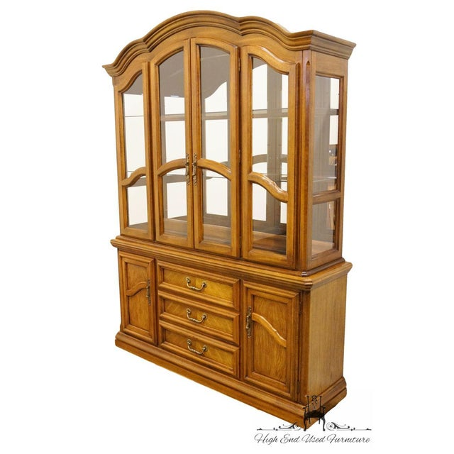 Dimensions: 80.25″ High 60.5″ Wide 17″ Deep We specialize in High End Used Furniture that we consider to be at least an 8...