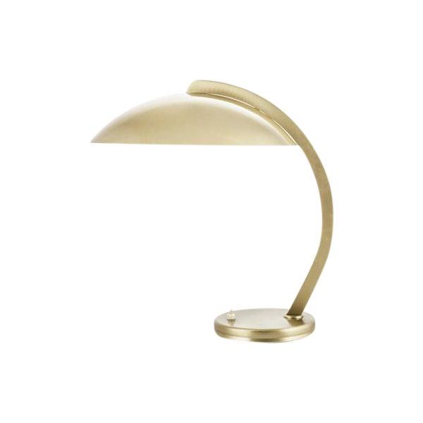30's Bauhaus Hillebrand Bronze Plated Desk Lamp - Image 1 of 3