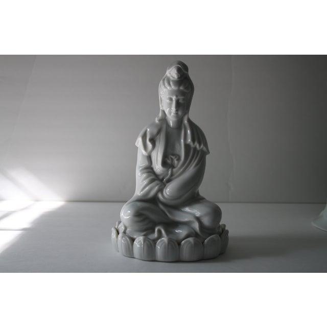 Blanc De Chine Goddess Statue - Image 2 of 6