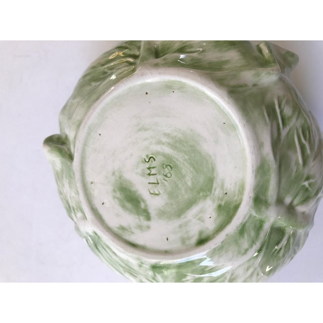 Cabbage Shaped Lidded Soup Bowl For Sale In Chicago - Image 6 of 10