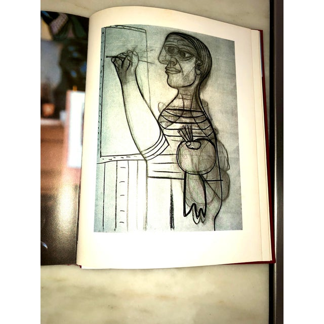 """Vintage 1980 """"Viva Picasso"""" Coffee Table Studio Book For Sale - Image 9 of 13"""