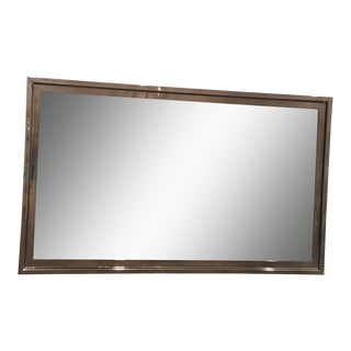 Hickory Chair Steel Frame Wall Mirror For Sale