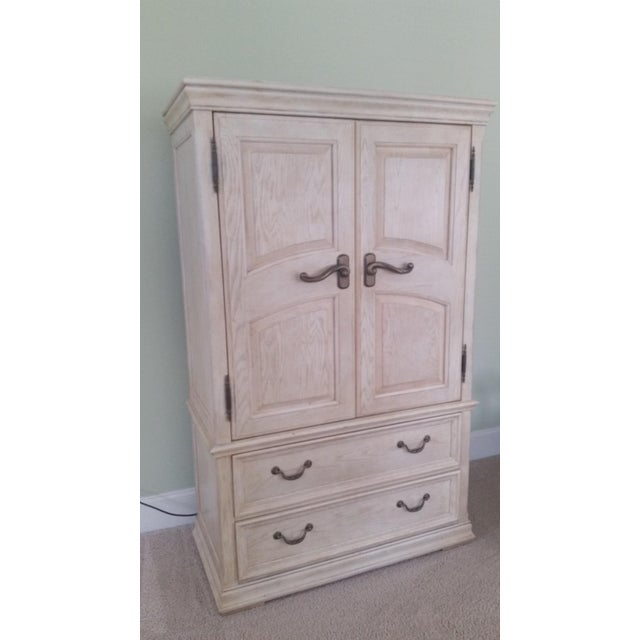 Shabby Chic Henredon Armoire - Image 2 of 3