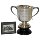 Image of 1925 Sterling Silver Kentucky Latonia Horse Race Cup For Sale