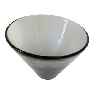 Per Lütken Smoke Console Bowl For Sale