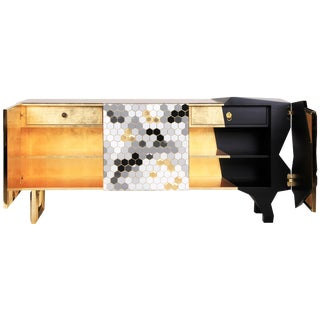 Honeycomb Sideboard, Royal Stranger For Sale