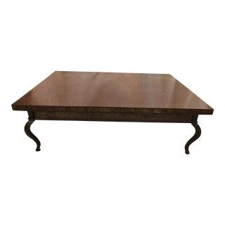 Custom Made Steel Coffee Table