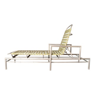 Outdoor Chaise Longue, 1960s Usa For Sale