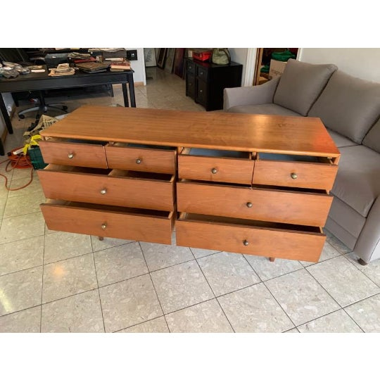 1960s Vintage Mid Century Modern Drexel Declaration Bedroom Dresser For Sale - Image 5 of 7