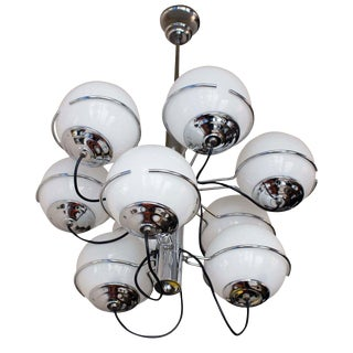 Sarfatti Style Chandelier For Sale