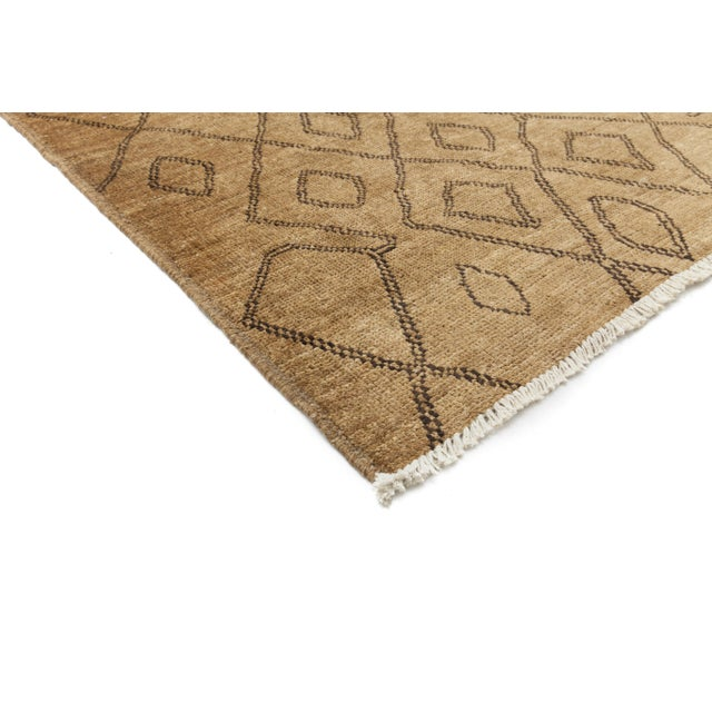 "New Moroccan Hand Knotted Area Rug - 8'3"" x 10'1"" - Image 2 of 3"
