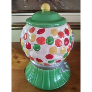 Retro Pop Art California Pottery Gumball Cookie Jar Preview
