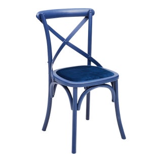 Nimes Chair in Blue - a Pair For Sale