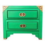Image of Huntley by Thomasville Asian Inspired Nightstand For Sale