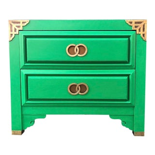 Huntley by Thomasville Asian Inspired Nightstand For Sale