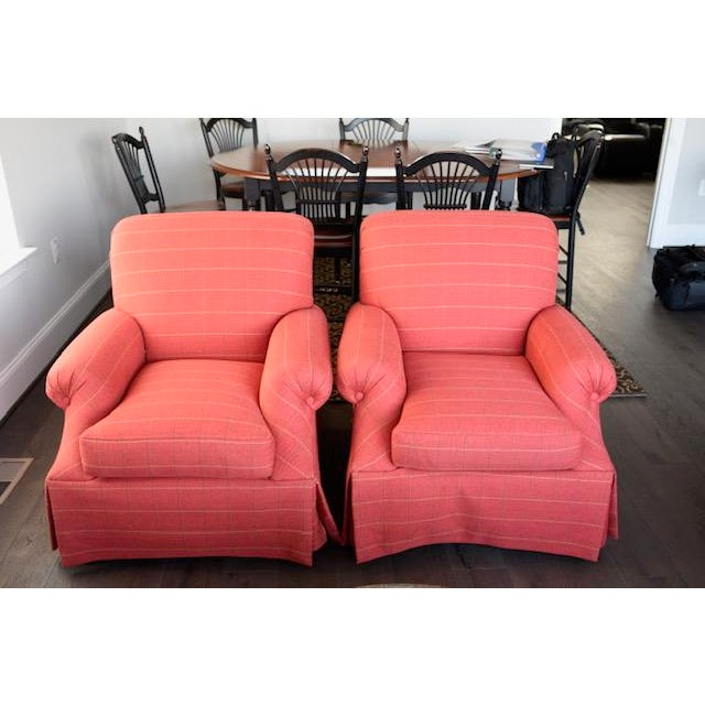 Beautiful Transitional Chairs that add a wonderful splash of color to a room.
