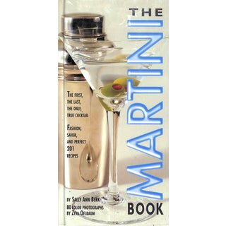 The Martini Book For Sale