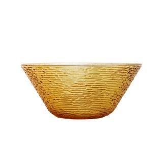 Anchor Hocking Mid Century Yellow 'Soreno' Bowl For Sale