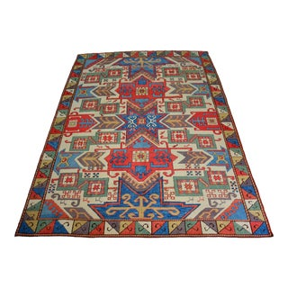 Vintage Turkish Oushak Wool Rug For Sale