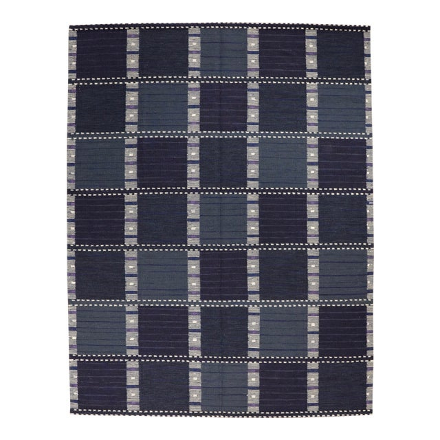 Contemporary Swedish Marta Design Rug - 9′3″ × 12′ For Sale