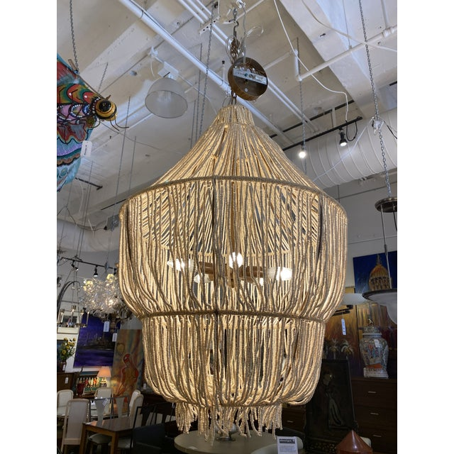 Made Goods CoCo Bead Aida Chandelier For Sale - Image 4 of 10