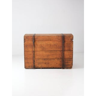 Antique Wood Chest Preview