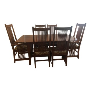 Pennsylvania House Mission Classic Dining Room Table Set For Sale