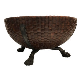 Asian Modern Kreiss Collection Nairobi Drum Table For Sale